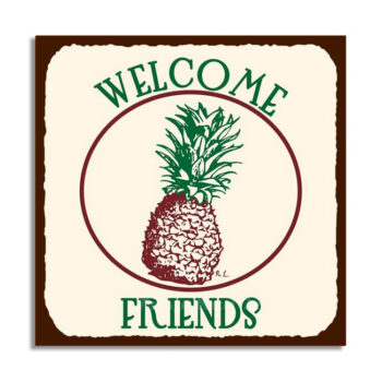 Fruit & Welcome Signs