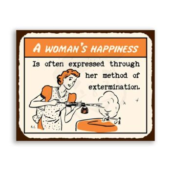 A Womans Happiness Extermination
